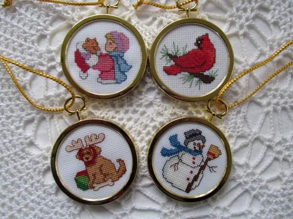 Cross Stitch Ornament Frames - Lookup