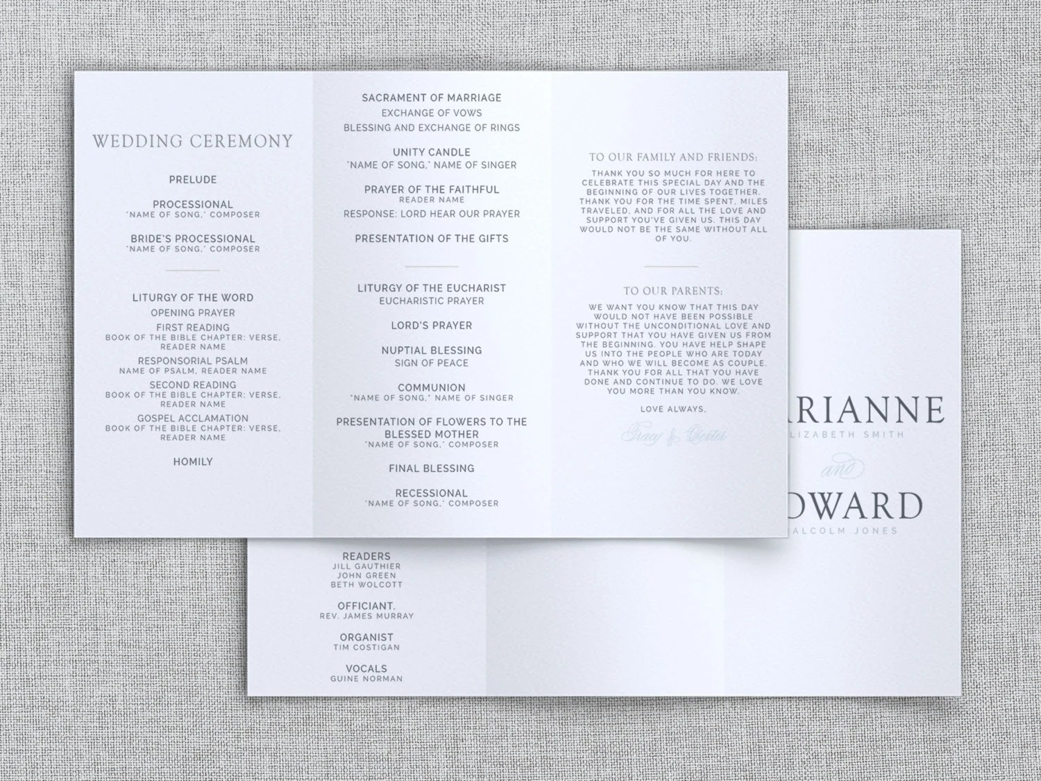 content sample wedding ceremony scripts