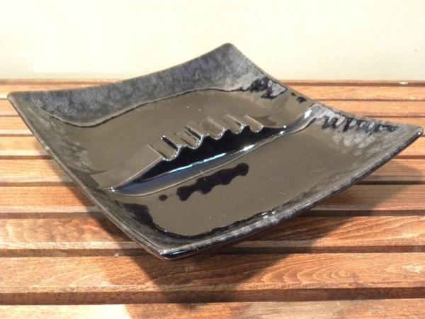 Vintage Royal Haeger Ashtray Rare Black