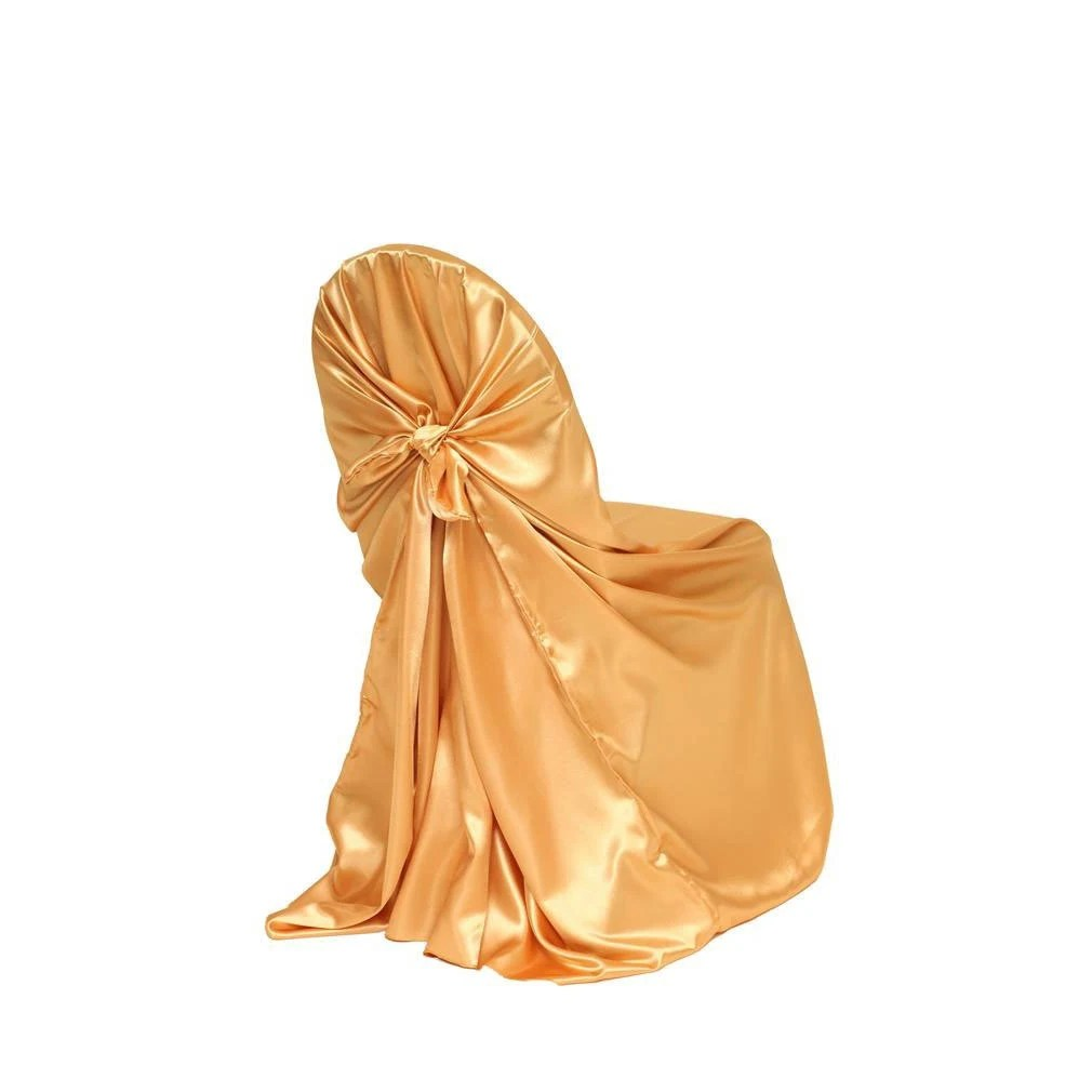 black lifetime chair covers add on headrest for office gold satin universal cover wedding