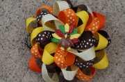 thanksgiving hair bow