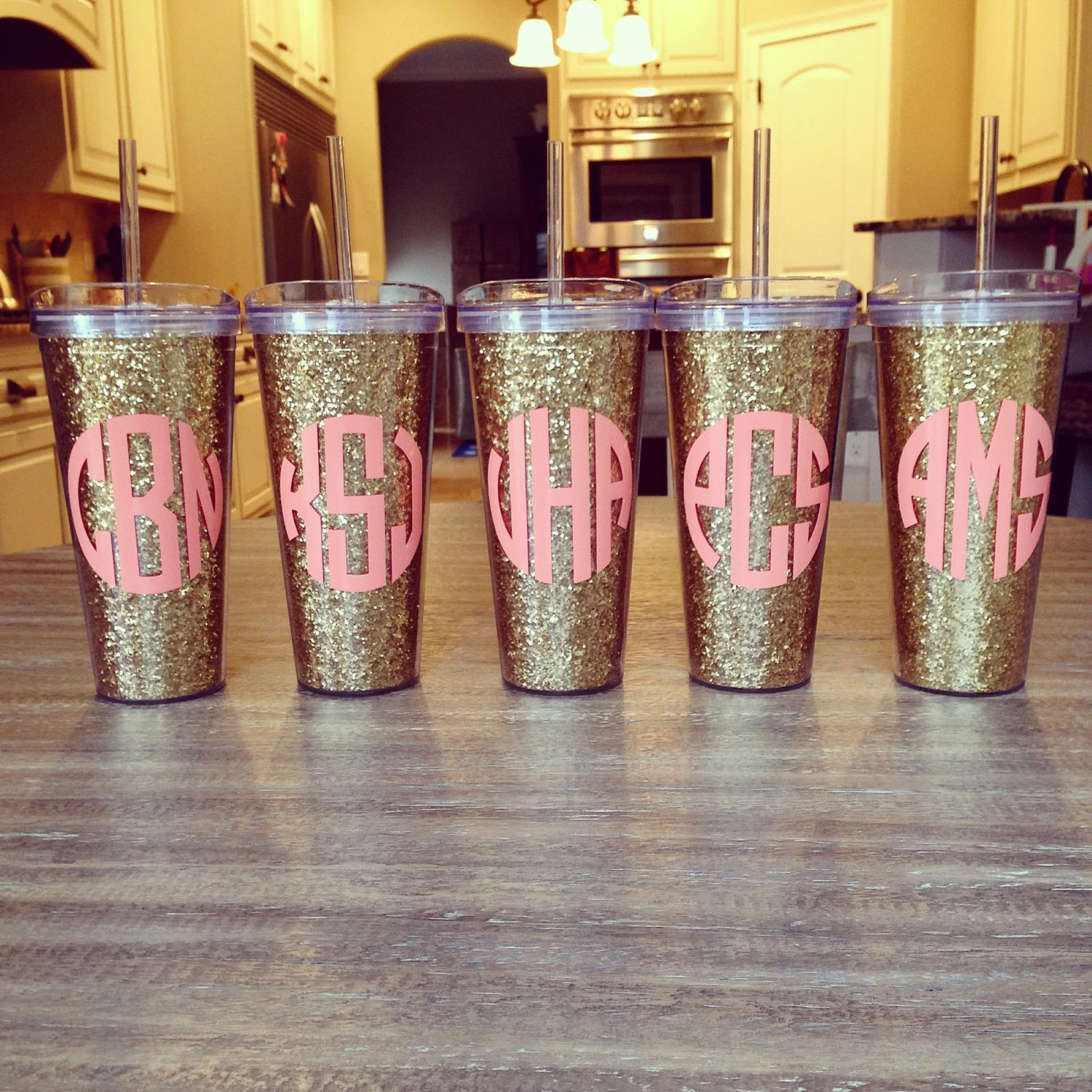 Personalized 22oz Acrylic Double Wall Tumbler WStraw By