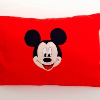 Mickey Mouse Fleece Pillow Pillow case only by SewAshleigh