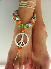 Hippie Barefoot Sandals Wedding