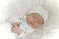 Baby Boy Clothes Newborn Hospital Outfit Personalized Layette