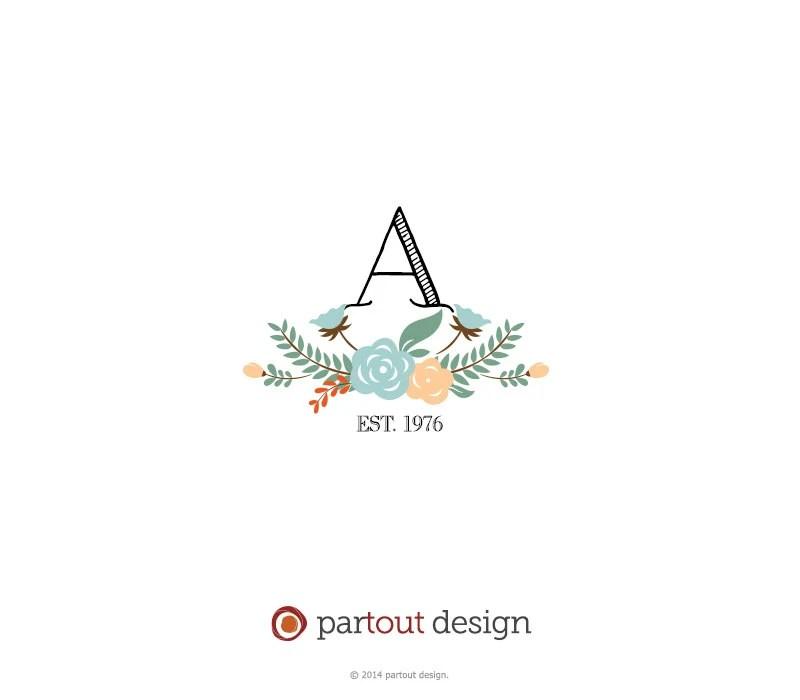 Popular items for monogram logo on Etsy
