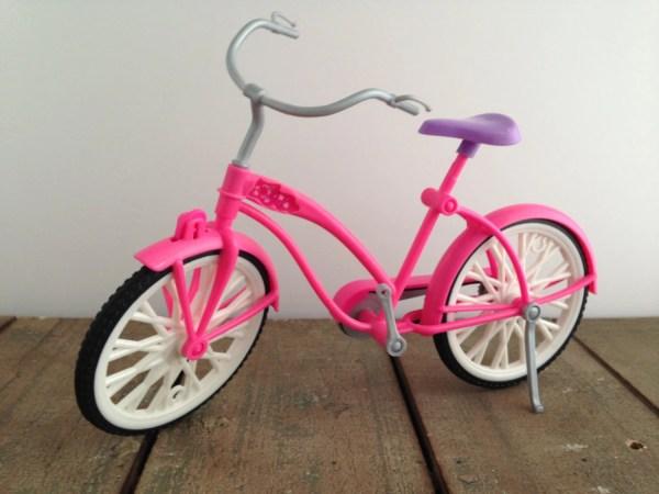 Reserved Morena Barbie Glam Bike Pink White Purple