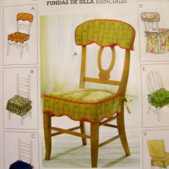 Dining Chair Seat Covers Etsy Antique Rocking Chairs Straight Mccalls 4405