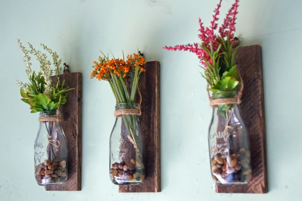 Hanging Wall Vase Home Design Ideas