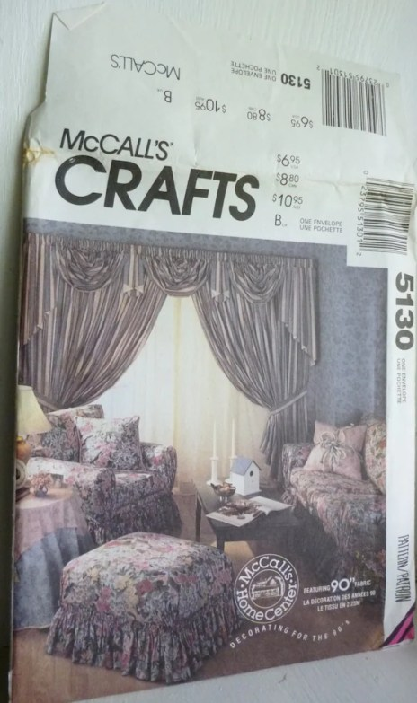 McCall 5130 Slipcovers Bed Duvet Pillows McCall's 1990 UNCUT 90 | Jungleland Vintage on Etsy