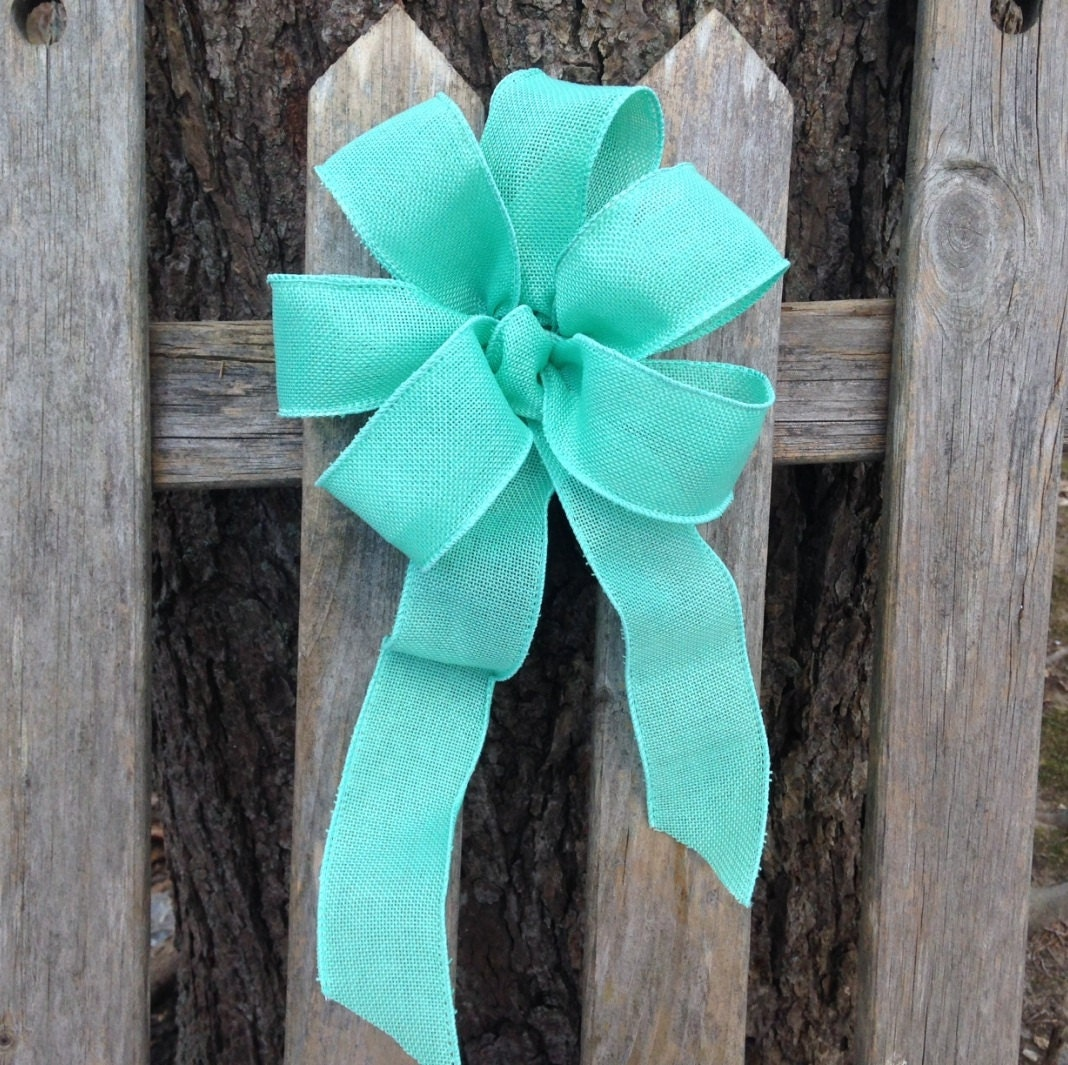 mint chair sashes heavy duty lift reviews aqua green bow ribbon turquoise pew summer wedding
