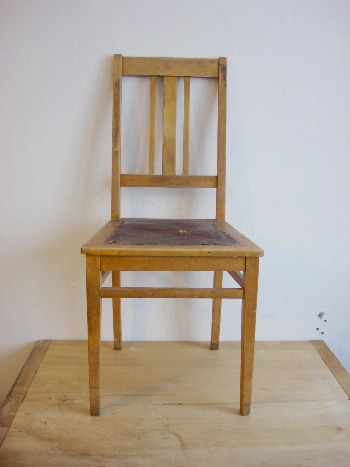 vintage wooden chairs pride lift chair parts antique 1940s oak dining room furniture