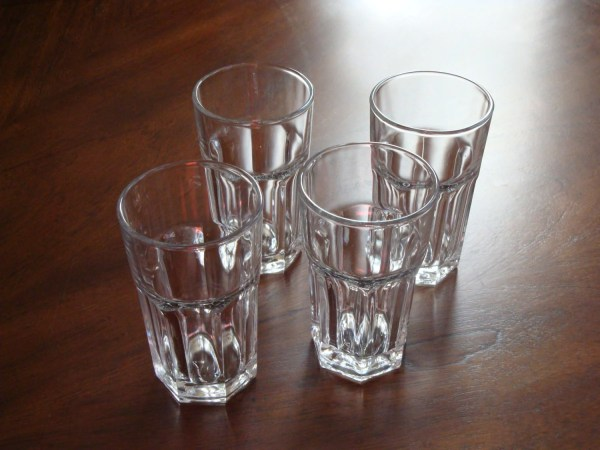 Libbey Gibralter Clear Juice Glasses 4