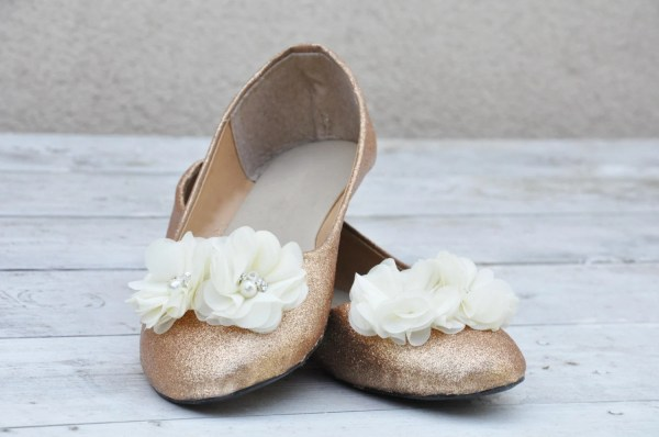 Ballet Flats Ivory Wedding Ragzdagztm