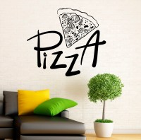 Pizzeria Wall Decal Vinyl Stickers Pizza Restaurant Interior
