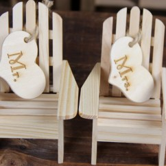 Adirondack Chair Cake Topper Bistro Dining Table And 4 Chairs Wedding By Rusticblend