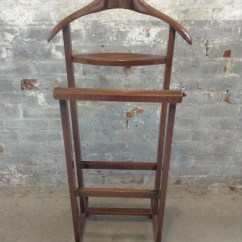 Mens Chair Valet Stand Target Chairs Folding Double By Fratelli Reguitti  Mid Century