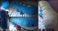HUGE 5ft Wailord Body Pillow Plush by SmileAndLead on Etsy