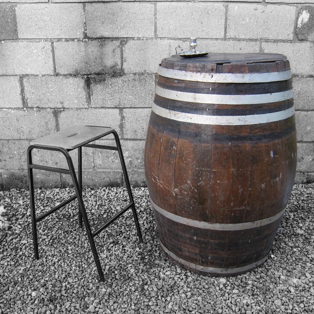 Vintage beer keg