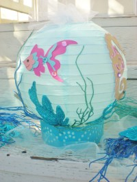 Under the Sea table centerpiece beach or ocean theme fish