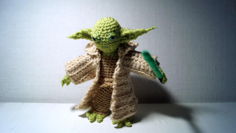 Yoda Crochet Amigurumi Patterns Star Wars Kids Starwars Jedi Costume Yoda Toy Crochet