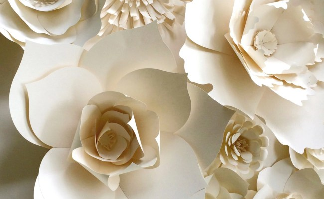 Paper Flower Wall Decor Large Paper Flower Paper Flower