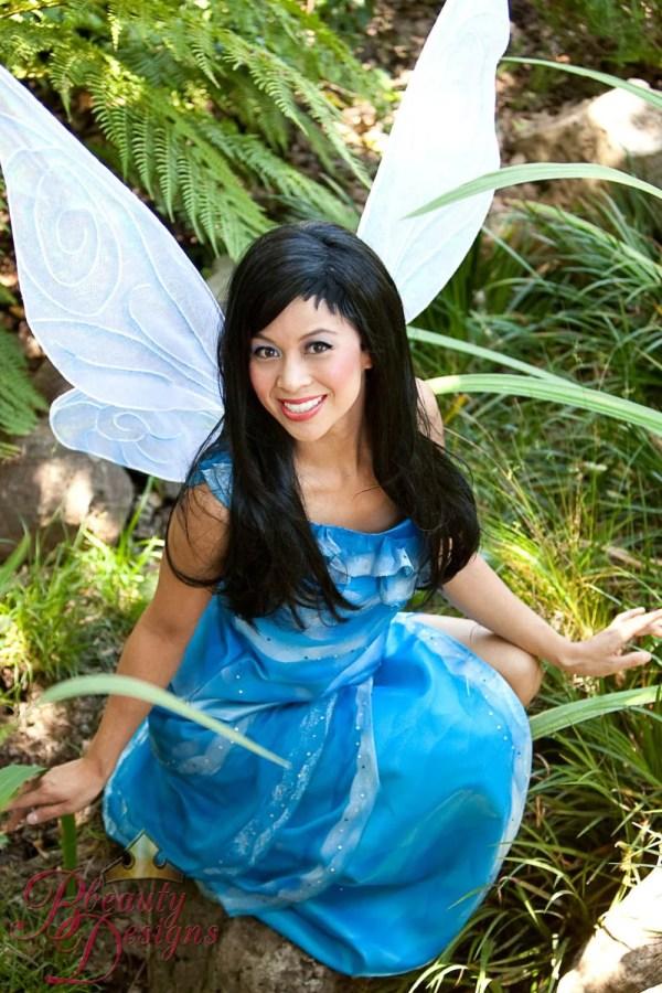 Silver Mist Fairy Costume Adult