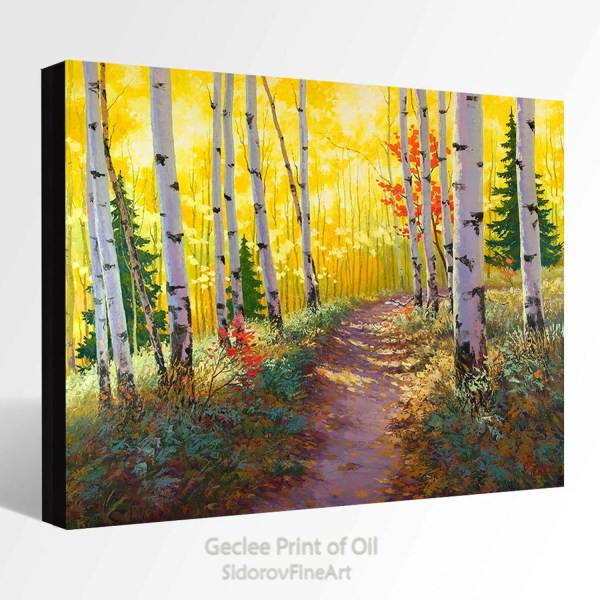 Oil Painting Giclee Print Canvas Fine Art Of