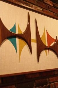 Mid Century Modern Witco Madmen Abstract Wall Art Sculpture