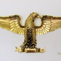 Golden Eagle Skeleton Diagram Rj11 Telephone Socket Wiring Gold Statue