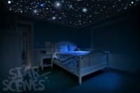 Glow in the dark stars room idea DIY Star Ceiling by ...