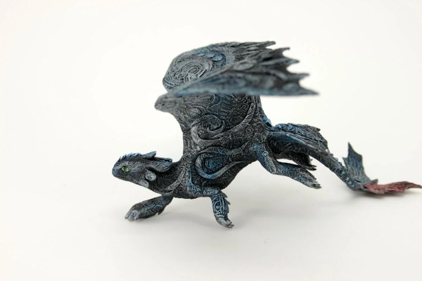 Toothless Night Fury Dragon Sculpture Httyd Figurine