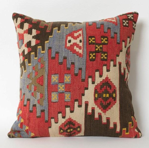 Kilim Pillow Case Turkish Shabby Chic