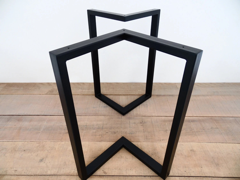 chair steel bracket darlington covers bishop auckland 28 x 20 table legs height