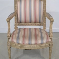 Minton Spidell Chairs Oak Dining Room 22446e Louis Xvi Paint Decorated Arm Chair