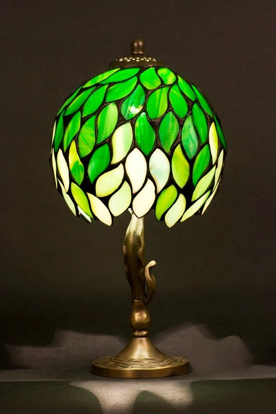 Night Light Stained Glass Lamp Table Lamp Table Decor Desk