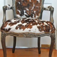 Animal Rocking Chair Mies Van Der Rohe Barcelona Classic Cowhide French