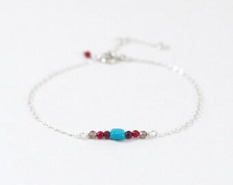 Items similar to Turquoise Mechant Grigri bracelet on Etsy