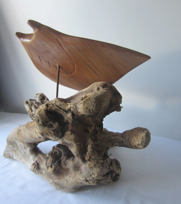Ray Wood Carving - Year of Clean Water