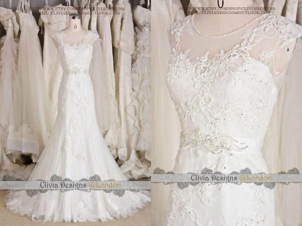 2016 Beautiful Vintage Lace Wedding Cliviadesign