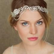 wedding headband bridal