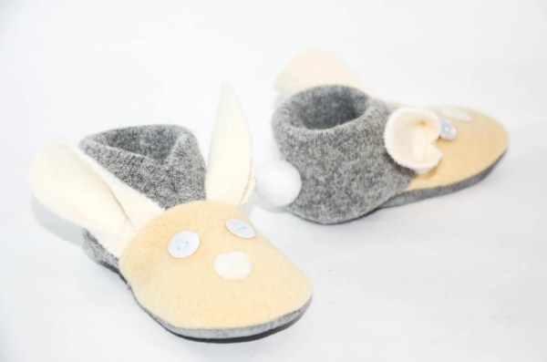 Bunny Baby Shoes Kids Slippers Easter