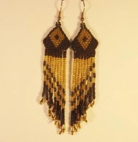Indian Inspired Earrings Native American Style Dangle