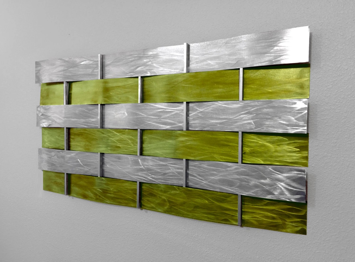 Modern Abstract Metal Wall Art Sculpture By