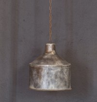 Galvanized Lighting FixturePendant LightingRustic industrial