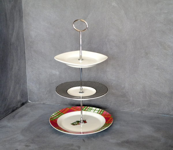 3 Tier Cake Plate Stand