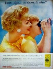 1959 clairol hair color bath