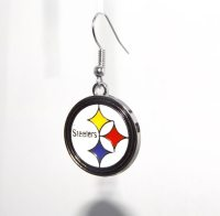 Pittsburgh Steelers Earrings or Necklace by StadiumJewels