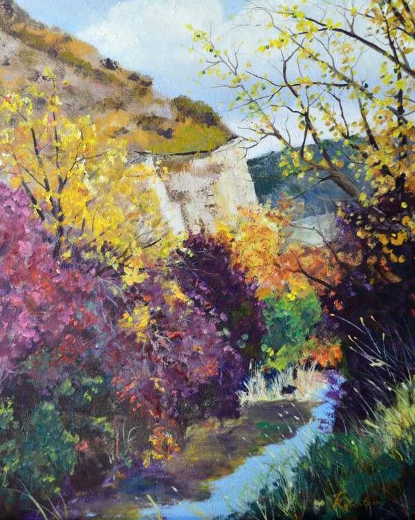 Fine Art Painting Framed Original Landscape Oil