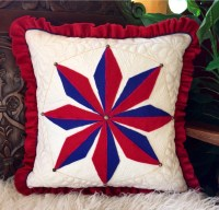Decorative pillow homemade throw pillow nautical mariners
